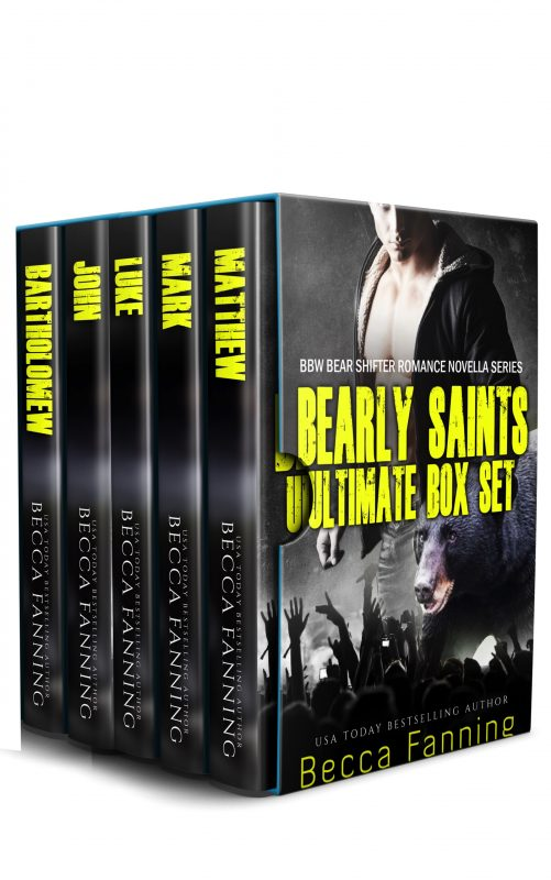 Bearly Saints Ultimate Box Set: Rockstar Bear Shifter Romance Novella Box Set