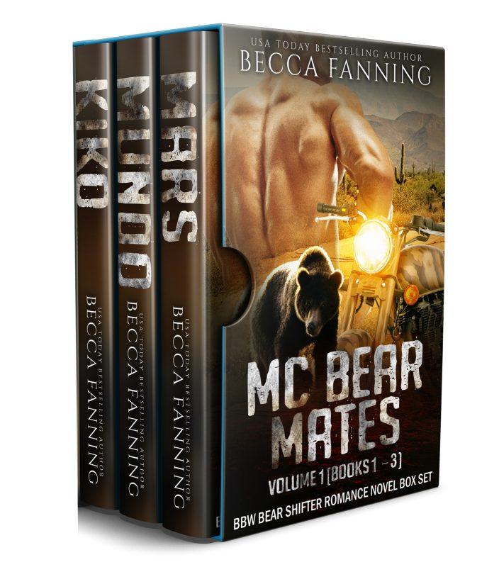 MC Bear Mates Vol 1: BBW Bear Shifter Romance Novel Box Set