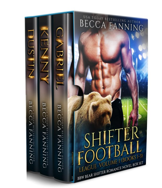 Shifter Football League Vol 1: BBW Bear Shifter Romance Novel Box Set